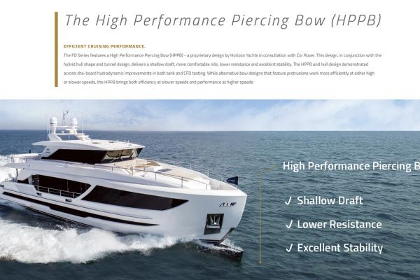 Le bulbe haute performance (High Performance Piercing Bow - HPPB)