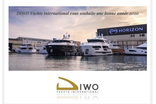L'équipe DIWO Yachts est fière des réalisations faites durant l'année 2019